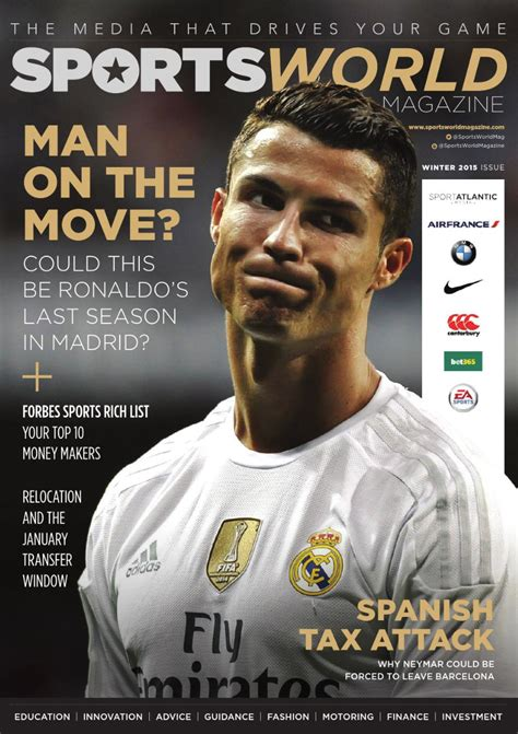 7 Best Sports Magazines by Sports World Magazine