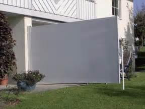 terrasse sichtschutz hofsaess markisen sonnenschutz neuheiten seitenmarkise