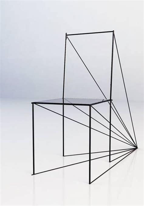 Dessin De Chaise En Perspective by Chaise Perspective Par Zigert Artem Esprit Design
