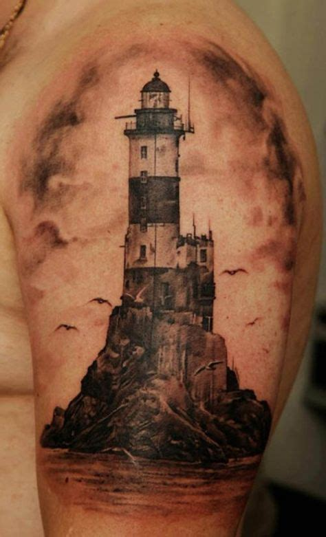 lighthouse tattoo meaning best 25 lighthouse tattoos ideas on nautical