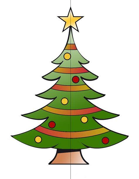 arbol navidad plantilla actividades manuales de 193 rbol de navidad tridimensional