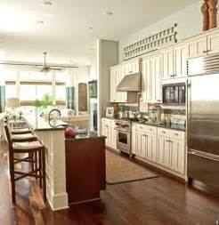 One wall kitchen with island future home ideas pinterest