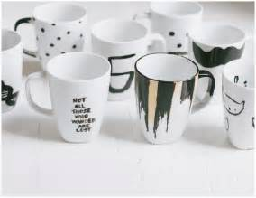 Coffee Mug Ideas by The Simplest Diy Coffee Mugs