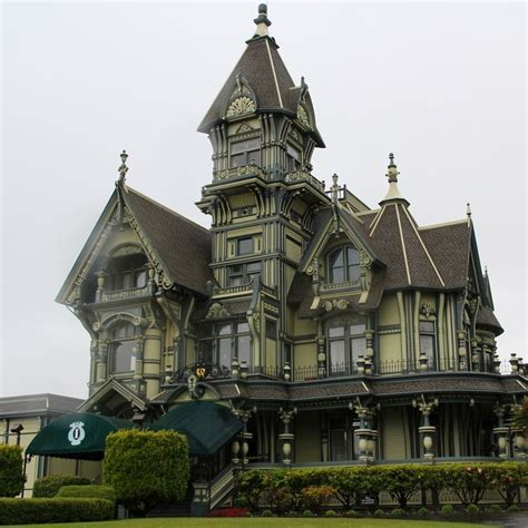 Haunted Houses In California by Carson Mansion Eureka California House Haunted