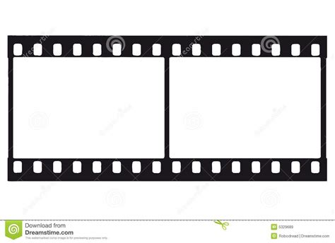 Filmstrip (vector) stock vector. Image of entertainment ...