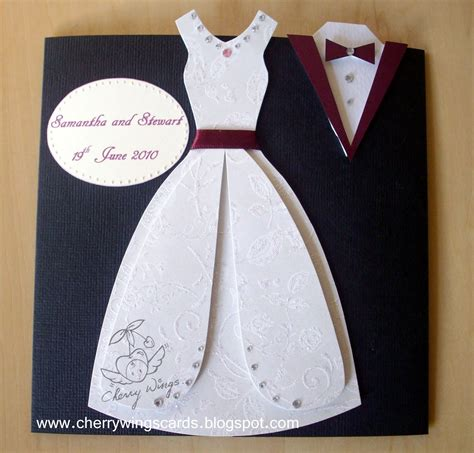 wedding dress template for cards cherry wings june 2010