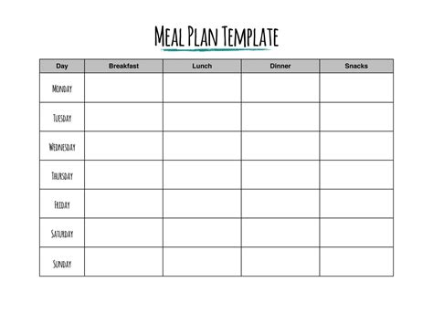 savings planner template hungry for savings try a meal plan from rags to reasonable