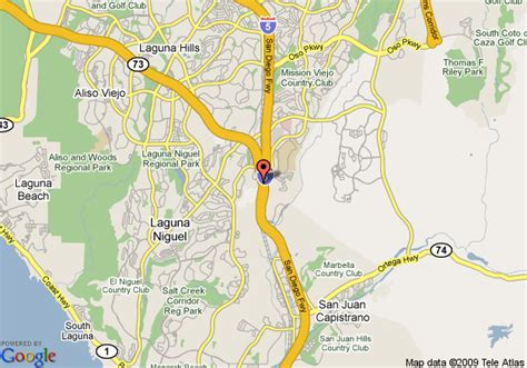 california map san juan capistrano map of best value laguna inn and suites san juan capistrano
