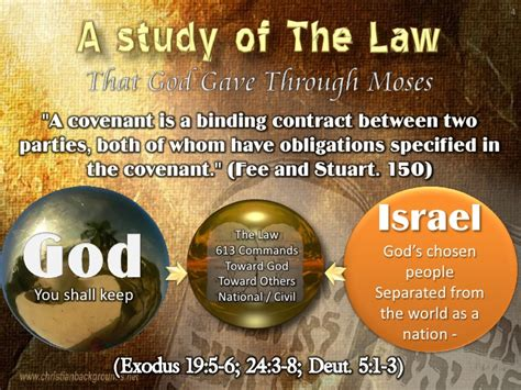 sections of the law study of the law part 2 the 10 commandments 1 3