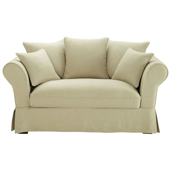 divani in lino divano beige in lino 2 3 posti roma maisons du monde