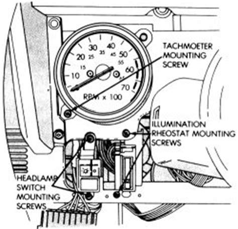repair guides instrument  switches tachometer autozonecom