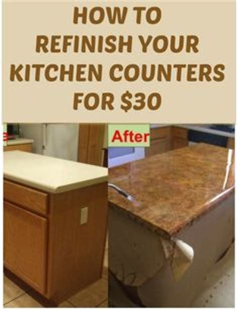 how can i refinish my kitchen cabinets how to refinish your kitchen counter tops for only 30
