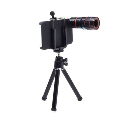 8x zoom optical telescope lens for iphone 4 4g 4s with tripod stand ebay