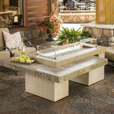 great outdoor room company turn up the heat with a stylish pit