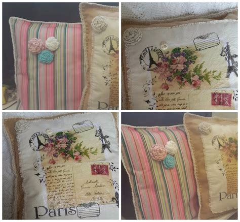 tutorial decoupage almohadones so sweet so cute meu lar meu cora 231 227 o almohad 243 n vintage