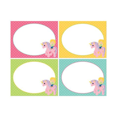 printable unicorn labels printable rainbow unicorn party fancy labels by daysigns