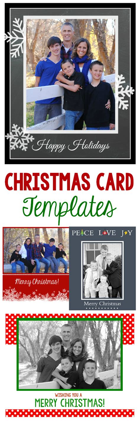 50 Free Holiday Photo Card Templates Moritz Fine Designs Card Photo Templates Free