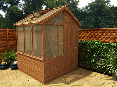 House Shed Combo by New Potting Sheds Mop Your Brow And Reap The Fruits Of