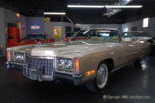 1971 Cadillac Eldorado Convertible For Sale Seven Motorcars Inc 1971 Eldorado Convertible
