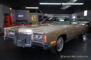 Cadillac Eldorado 1971 Seven Motorcars Inc 1971 Eldorado Convertible