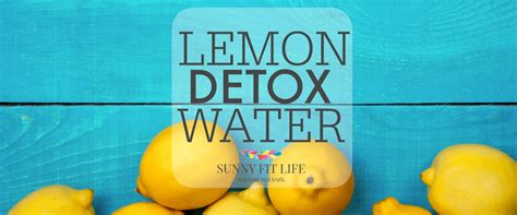 Getting Sick While Detoxing by Lemon Detox Water Recipe Jump Start Your Weight Loss