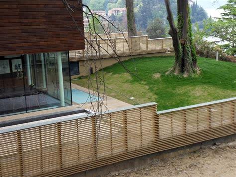 recinzione giardino in legno preventivo recintare giardino habitissimo