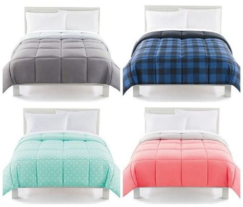 kohls down alternative comforter kohl s the big one down alternative reversible