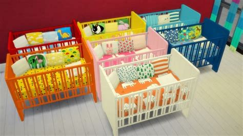 sims 4 cc baby funtioneri 7 crib recolors at budgie2budgie sims 4 pinterest sims