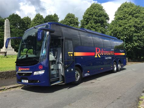 volvo continues long association  robinsons holidays
