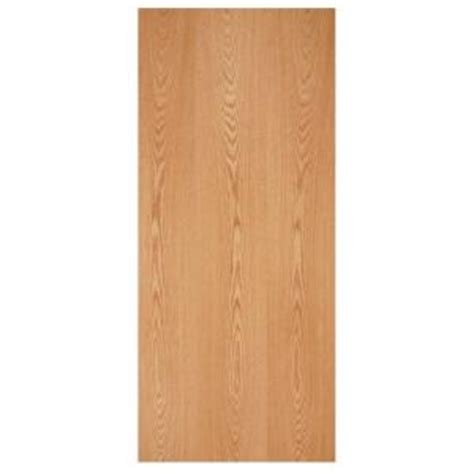 oak interior doors home depot masonite 30 in x 80 in smooth flush hardwood hollow core