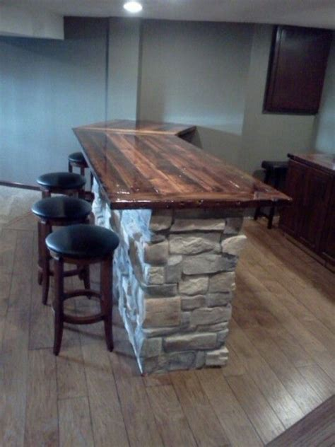 wood bar top ideas 25 best ideas about reclaimed wood countertop on