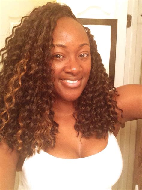 crochet braiding with cozy deep freetress deep twist crochet braids crochet braids
