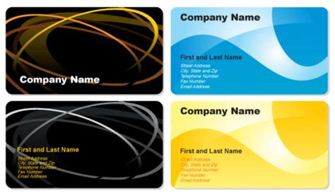 cdr templates business card business cards vector ai eps cdr free graphics