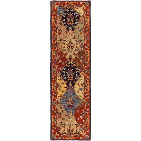 burgundy rug runner artistic weavers cerastium burgundy 3 ft x 8 ft indoor rug runner s00151027700 the home depot