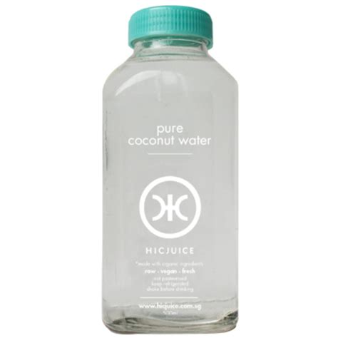 Detox Coconut Water by Hicjuice Cold Pressed Juice Detox Plans