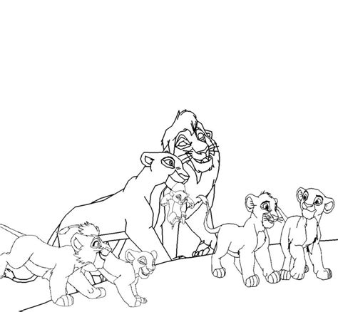 lion pride coloring pages kiara and kovu coloring pages kids coloring