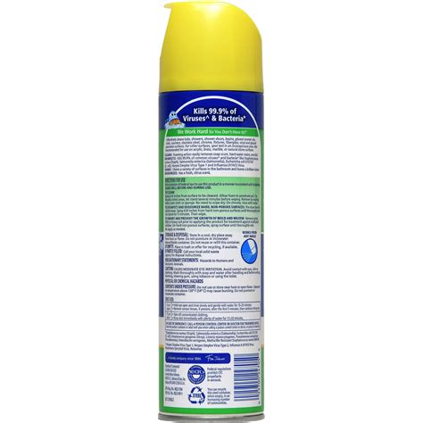 scrub free bathroom cleaner msds 100 dow bathroom cleaner scrubbing bubbles brushes