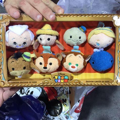 Tsum Pinokio look at the new pinocchio tsum tsum set available at