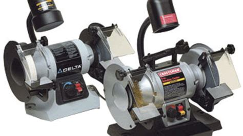 delta variable speed bench grinder 6 in variable speed bench grinder no gr250 finewoodworking