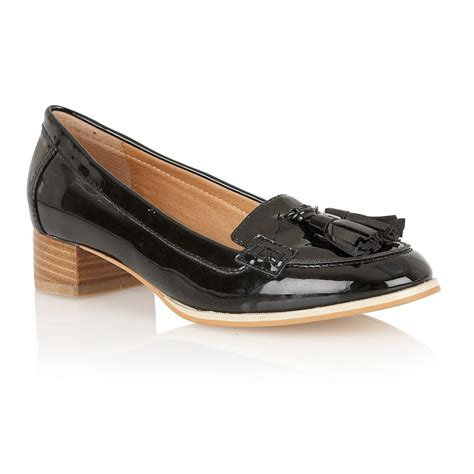 black patent loafer buy ravel magnolia loafers in black patent