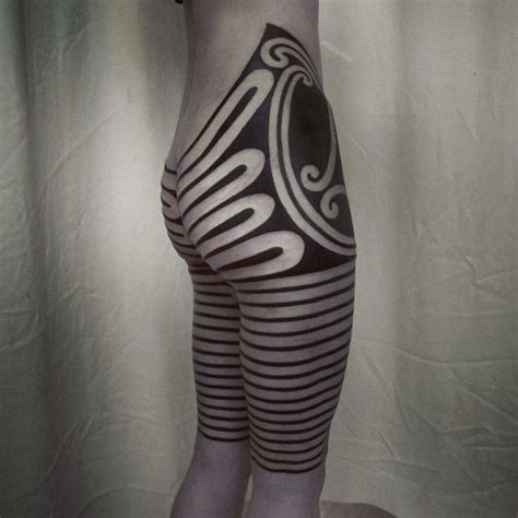 tribal tattoo knee tribal hip best ideas gallery