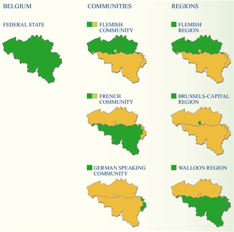 belgium regions map is the character flanders in the simpsons new zone