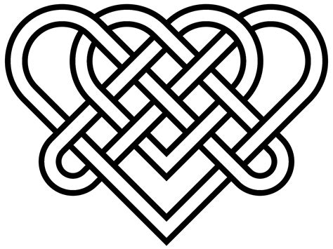 Knot Designs - simple celtic knot designs clipart best