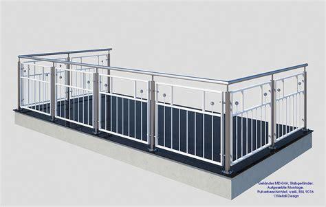 balkongelã nder shop balkongel 228 nder md 04a wei 223 pulverbeschichtet deutschland
