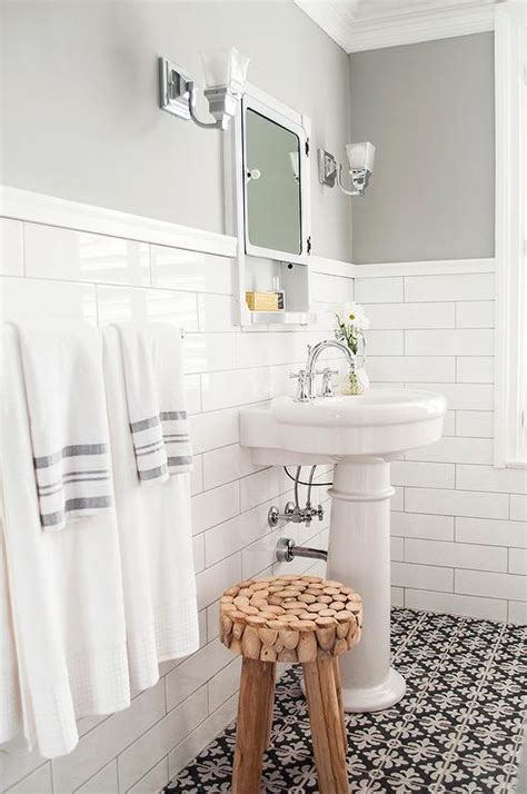 bathrooms painted grey gray half painted bathroom walls transitional bathroom sherwin williams gray clouds