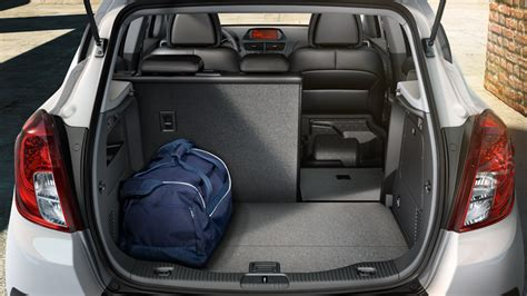 opel mokka trunk opel mokka features versatility storage and luggage