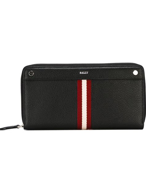 Bally Wallet bally grosvenor wallet in black lyst