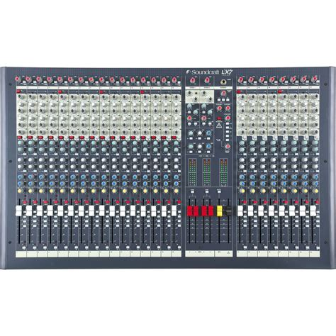 Mixer Audio Yamaha 24 Channel soundcraft lx7ii 24 channel mixer music123