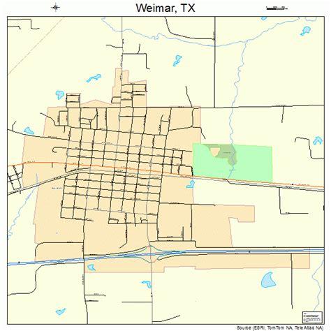 weimar texas map weimar texas map 4877020