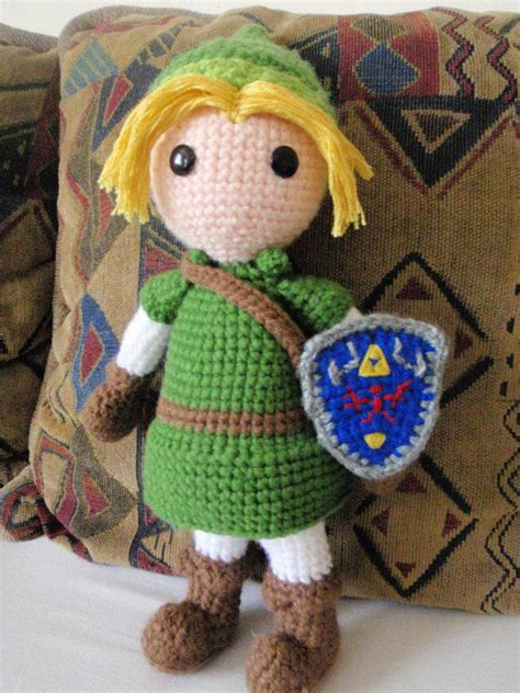 crochet pattern link zelda link de zelda crochet by franbrissch on deviantart